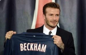 David Beckham, una marca comercial más allá del fútbol