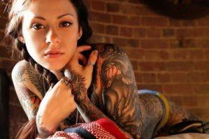 Mamacitas forradas de tatuajes (Fotos)