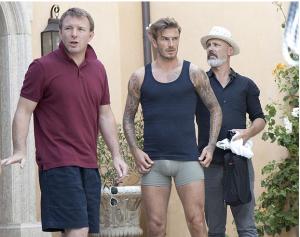 Qué golazo el paquetote de Beckham (Foto)
