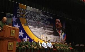 La FAN ratifica subordinación y lealtad a Chávez (Video)