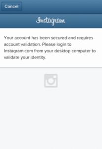 Instagram parece haber cobrados unas víctimas