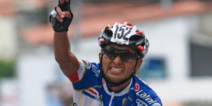 Maky Román se llevó la cuarta etapa de la Vuelta al Táchira
