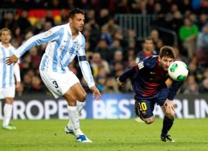 El Málaga le sacó un empate a 2 al Barcelona en la Copa del Rey