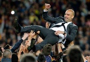 El fichaje de Guardiola por el Bayern sorprende a la prensa española