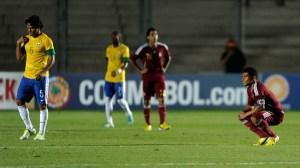 La Vinotinto cayó frente a la Canarinha en el Sudamericano Sub-20