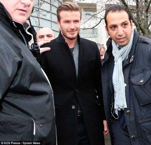 "Llega a París la ""pop-star"" del fútbol mundial, David Beckham"