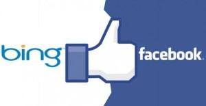 Facebook y Bing ahora son socios