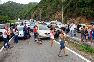 Protesta en la Panamericana genera retraso vehicular
