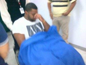 Pablo Sandoval hospitalizado por fuerte dolor abdominal (Foto)