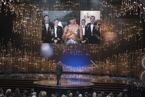 Michelle Obama, la gran sorpresa de los Oscar (Fotos y Video)