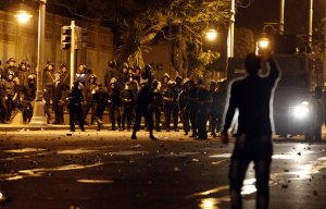 Un muerto y 216 heridos en los disturbios de ayer en Egipto