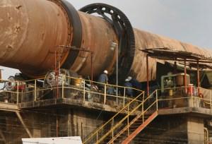 Cementos de Venezuela opera a 60% de su capacidad