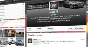 Sigue el ataque: Ahora la cuenta de Jeep fue hackeada