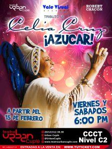 """Disfruta el """"Azúcar"""" de Celia Cruz en el Urban Cuplé"""