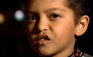 """Antes de """"Grenade"""", Bruno Mars ya era una miniestrella a los 4 años (Video)"""
