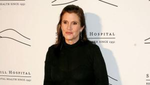 La Princesa Leia fue hospitalizada
