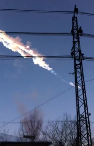 No se pueden prever meteoritos como el de Rusia