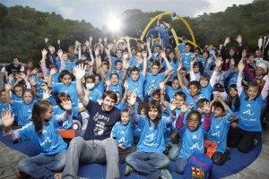 Golosinas con nombre Messi para obras solidarias de su fundación