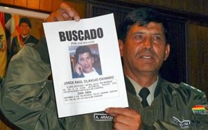 Encuentran cadáver de asesino de periodista en Bolivia
