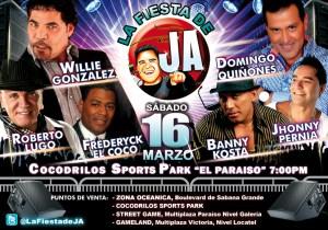 Todo listo para la fiesta de J.A hoy en el Cocodrilos Sports Park