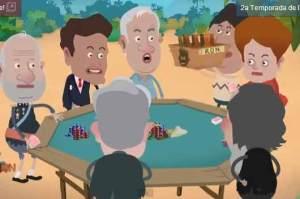 Isla Presidencial: Evo con su nuevo amigo Nico (Video)