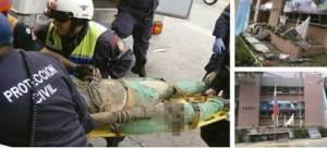 Desplome de una pared en el Cicpc de Mérida mató a una dama embarazada