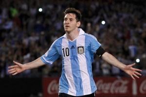 Messi se quejó del arbitraje venezolano