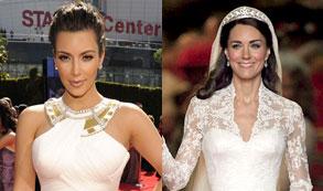 ¡Sorprendente! Estos son los parecidos entre Kate Middleton y Kim Kardashian