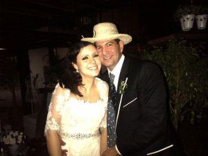 Carla Angola se disfruta su boda (FOTOS)