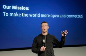 Facebook remuneró a Mark Zuckerberg con 1,99 millones de dólares en 2012