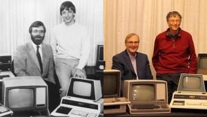 Bill Gates y Paul Allen 32 años después (FOTO)