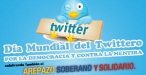 Día Mundial Twittero por la democracia y contra la mentira en Venezuela