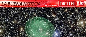 Captan nebulosa parecida a una fantasmal burbuja verde (Foto)
