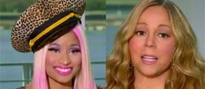 El rating de American Idol bajó por culpa de Mariah, dice Nicki