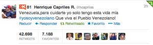 La mirada del pajarito: La campaña electoral por Twitter (Capriles el más RT de Venezuela)