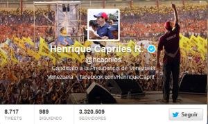 .@HCapriles le envió un mensaje a la Vinotinto