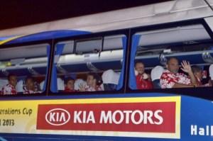 Tahití es la primera selección en Brasil para disputar la Copa Confederaciones