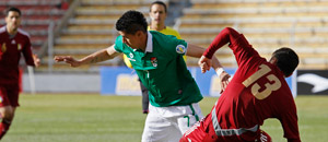 Bolivia y Venezuela empatan a un gol en La Paz