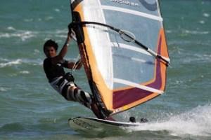 """Así apoya el windsurfista """"Cheo"""" Díaz a la Vinotinto (Foto)"""