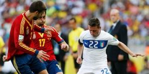 España derrotó a Italia en los penales y avanzó a la final (Fotos)
