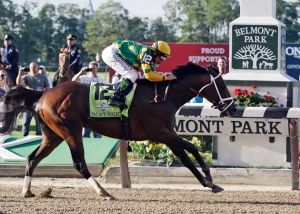 Palace Malice ganó el Belmont Stakes