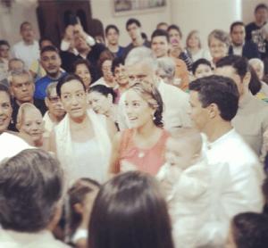 Así fue el bautizo del hijo de @leopoldolopez y @liliantintori (Fotos)