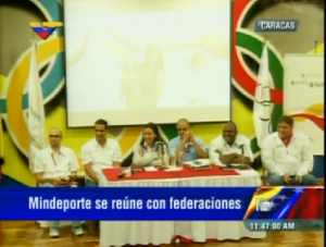 Mindeporte se reúne con federaciones deportivas nacionales