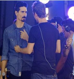 Los Backstreet Boys se pelean en el escenario