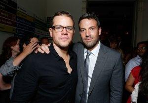 Matt Damon defiende a Affleck y asegura que Batman no es difícil de interpretar