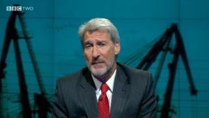 Causa revuelo la barba de un presentador de televisión