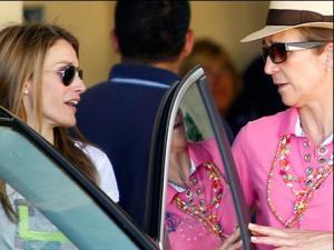 ¿Letizia y la infanta Elena ahora súper amigas? (Foto)