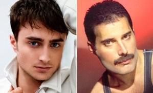 Harry Potter podría hacer de Freddie Mercury