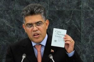 Venezuela en la ONU: Jaua dice que sigue oliendo a azufre