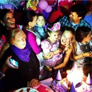 Así fue el cumpleaños de Manuela López Tintori (Fotos)